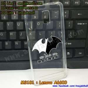 M3181-04 เคสยาง Lenovo A6600 ลาย Batman X01