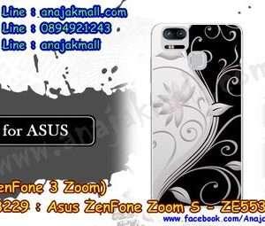 M3229-02 เคสแข็ง Asus Zenfone Zoom S-ZE553KL ลาย Black 02