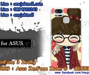 M3229-13 เคสแข็ง Asus Zenfone Zoom S-ZE553KL ลาย Hi Girl