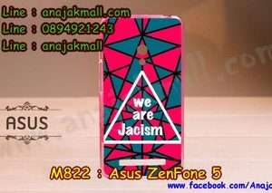 M822-20 เคสยาง ASUS ZenFone 5 ลาย Jacism