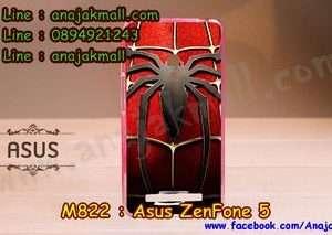 M822-22 เคสยาง ASUS ZenFone 5 ลาย Spider