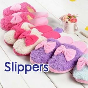 Doll22 รองเท้า Slippers รูปโบว์