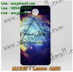 M1248-07 เคสยาง Lenovo A680 ลาย Some Nights