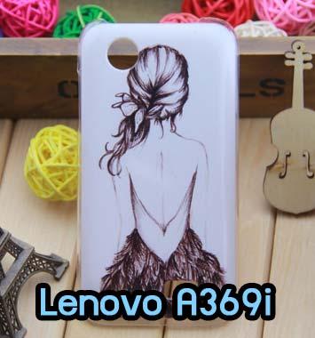 M668-06 เคสมือถือ Lenovo A369i ลาย Women