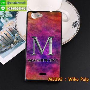 M3392-13 เคสยาง Wiko Pulp ลาย Magnificent