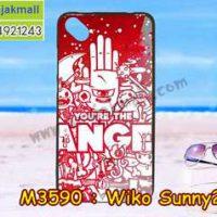 M3590-10 เคสยาง Wiko Sunny 2 Plus ลาย Angel