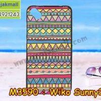 M3590-11 เคสยาง Wiko Sunny 2 Plus ลาย Graphic IV