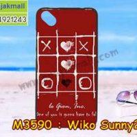 M3590-12 เคสยาง Wiko Sunny 2 Plus ลาย OX 11