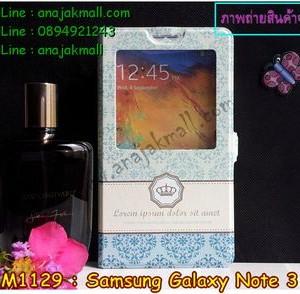 M1129-19 เคสโชว์เบอร์ Samsung Galaxy Note3 ลาย Graphic I
