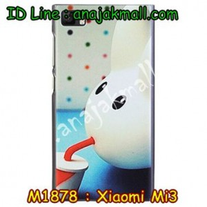 M1878-10 เคสแข็ง Xiaomi Mi 3 ลาย Fufu