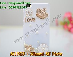 M1923-04 เคสประดับ Xiaomi Mi Note ลายมงกุฏรัก