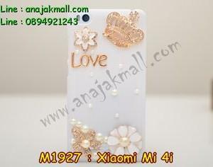 M1927-02 เคสประดับ Xiaomi Mi 4i ลายมงกุฏรัก