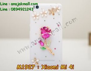 M1927-05 เคสประดับ Xiaomi Mi 4i ลาย Rose II