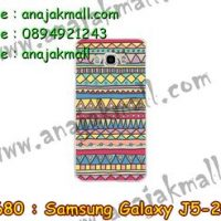 M2680-12 เคสยาง Samsung Galaxy J5(2016) ลาย Graphic IV