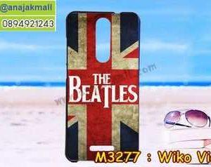M3277-34 เคสยาง Wiko View ลาย Beatles