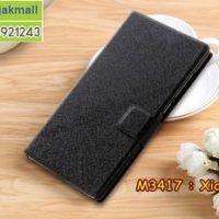 M3417-01 เคสฝาพับ Xiaomi Mi6 สีดำ