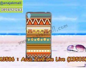 M3586-21 เคสแข็ง Asus Zenfone Live-ZB501KL ลาย Graphic II
