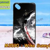 M3590-13 เคสยาง Wiko Sunny 2 Plus ลาย Sickle X01
