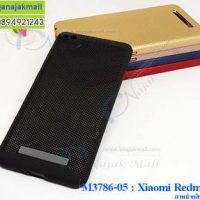 M3786-05 เคสระบายความร้อน Xiaomi Redmi 4a สีดำ
