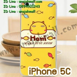 M750-05 เคสแข็ง iPhone 5C พิมพ์ลาย Hami
