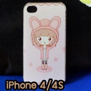 M734-03 เคสแข็ง iPhone 4S/4 ลาย Fox