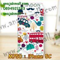 M750-13 เคสแข็ง iPhone 5C ลาย London