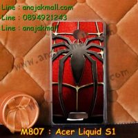 M807-28 เคสแข็ง Acer Liquid S1 ลาย Spider