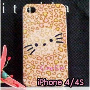 M734-11 เคสแข็ง iPhone 4S/4 ลาย KiCat