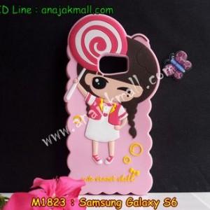 M1823-04 เคสตัวการ์ตูน Samsung Galaxy S6 ลายเด็ก B
