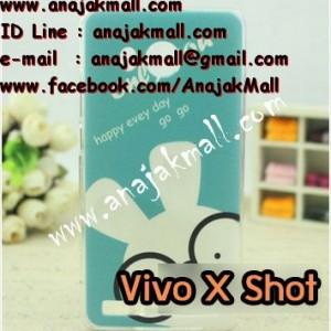 M1152-16 เคสแข็ง Vivo X Shot ลาย Blue Rabbit