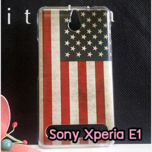 M810-06 เคสแข็ง Sony Xperia E1 ลาย Flag II