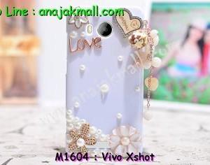 M1604-01 เคสประดับ Vivo X Shot ลาย Love
