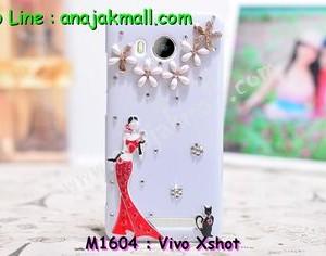 M1604-04 เคสประดับ Vivo X Shot ลาย Lady Party