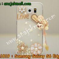 M1819-05 เคสประดับ Samsung Galaxy S6 Edge ลาย Love