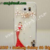 M1819-07 เคสประดับ Samsung Galaxy S6 Edge ลาย Lady Party