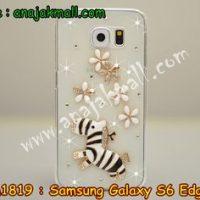 M1819-08 เคสประดับ Samsung Galaxy S6 Edge ลาย Zebra