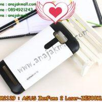 M2129-01 เคสทูโทน ASUS ZenFone 2 Laser (ZE500KL) สีขาว