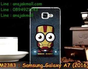 M2383-26 เคสแข็ง Samsung Galaxy A7(2016) ลาย Iron Man IV