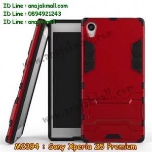 M2394-05 เคสโรบอท Sony Xperia Z5 Premium สีแดง