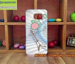 M2669-10 เคสแข็งขอบใส Samsung Galaxy S7 ลาย Iron Man III