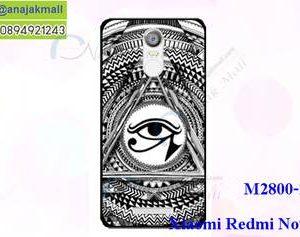 M2800-11 เคสแข็ง Xiaomi Redmi Note 3 ลาย Black Eye