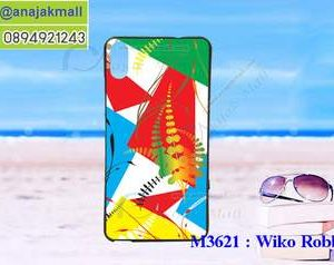 M3621-11 เคสยาง Wiko Robby 2 ลาย Color Plant