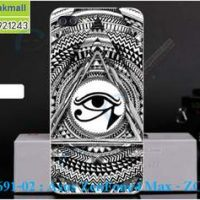 M3691-02 เคสแข็ง Asus Zenfone 4 Max-ZC520KL ลาย Black Eye