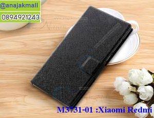 M3731-01 เคสฝาพับ Xiaomi Redmi 5a สีดำ