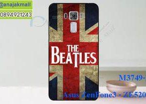 M3749-20 เคสแข็ง Asus Zenfone 3 - ZE520KL ลาย Beatles
