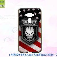M3820-05 เคสยาง ASUS ZenFone3 Max-ZC553KL ลาย Black OPS