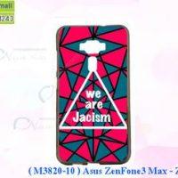M3820-10 เคสยาง ASUS ZenFone3 Max-ZC553KL ลาย Jacism