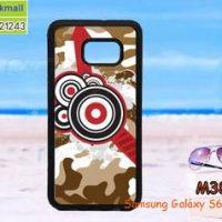 M3827-03 เคสขอบยาง Samsung Galaxy S6 Edge Plus ลาย BW SD I