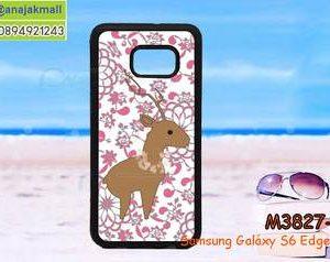 M3827-06 เคสขอบยาง Samsung Galaxy S6 Edge Plus ลาย Animal-07