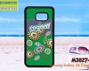M3827-09 เคสขอบยาง Samsung Galaxy S6 Edge Plus ลาย Designe 01